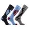 Laulax, 3 paia di calze termiche lunghe da sci, da uomo,cashmere-like, taglia 41–46, color...