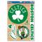 """NBA Boston Celtics WCR43210014 - Decalcomania multiuso, 11"""" x 17"""""""