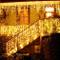 Catena Luminosa, Cascata led, Luci cascata, Strisce LED, 216 LED 5M Led Luci, Luci Stringa...