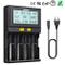 Caricabatterie 4 Slot Intellicharge per Li-Ion / IMR / Ni-MH / Ni-Cd 18650 26650 22650 184...