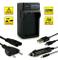 4in1 Caricabatteria EN-EL9 / EN-EL9a per Nikon D40 | D40x | D60 | D3000 | D5000 e più…