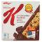 Kellogg's - Barrette di Cereali, con Cioccolato Fondente, 6 Pezzi