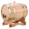 Dispenser per Botti di Vino in Legno Rovere Barilotto Vino Dispensatore Vintage per Tequil...