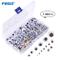 FEIGO 1100 Pezzi Sticker Wiggle Occhi, [5 ~ 25MM] DIY Occhi Mobile Adesivi Giocattolo