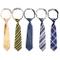 Kilofly - Comodo set da 5 cravatte pre-annodate, regolabili con chiusura al collo, per bam...