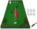 KJRJKD Professionale Exercice à la Golf Putting Mat Verde, simulatore di Golf di Formazion...
