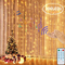 LEDGLE Tenda Luci LED, Tenda Luminosa 300 LED 3mx3m,4 modalità Musicali + 8 modalità di Lu...
