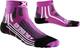 X-Socks Donna Run Speed Two Lady Corsa Calze, Donna, Run Speed Two Lady, Violet/Black, 35/...