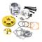 Kit Cilindro 50cc Testa CNC Scomposta per Minimoto Racing Completo ORO spinotto 10mm STI