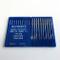 Schmetz 134 SES 135X5 Dpx5 aghi per macchina da cucire industriale, 20 pezzi 18/110