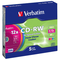 Verbatim CD-RW DataLifePlus 8-10X 700MB Colour,5 Pack, 43167 (Colour,5 Pack)