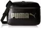 PUMA Campus Reporter Shoulder, Borse Unisex, Nero, Taglia Unica