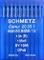 Schmetz, 10 aghi con testa rotonda per macchina da cucire, sistema 134(R), Industria St....