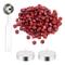 DECARETA 200 Pezzi Sigillo Perline di Cera Sealing Wax Ceralacca Rosso Kit Ceralacca con 2...