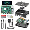 TICTID Raspberry Pi 4 Model B 2GB RAM Starter Kit Aggiornato Raspberry pi 3 con MicroSD Ca...