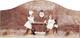Biscottini Appendino Decorato Anticato in Legno L29xPR3,5xH14 cm