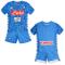 SSC Napoli Kit Gara Home 2018/2019 Bimbo, Azzurro, 4 anni