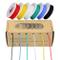 Cavo elettrico 28 AWG, cavo colorato 28 Cavo flessibile silicone calibro 28 (6 diverse bob...