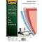 Fellowes 53764 Copertine per Rilegatura in PVC Trasparente, Formato A3, 200 Micron, Confez...