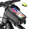 ROCKBROS Borsa Telaio Bici Borsa Impermeabile Manubrio per Bici MTB BMX Support Cellulare...
