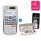 Casio, calcolatrice scientifica, FX-991ES Plus 5. + Geometrie-Set + Erweiterte Garantie