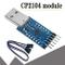 ARCELI CP2104 Convertitore seriale USB 2.0 a TTL UART Modulo 6PIN compatibile con e miglio...