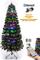 Shatchi 6053 - Albero di Natale in fibra ottica, con app Bluetooth, 60 cm, 8 modalità, tim...