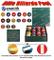 Biliardo Pool bilie Aramith Premium Diametro mm.57,2, in Resina fenolica con Tecnologia Vi...