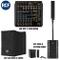 RCF EVOX 8 - Sistema Attivo con Colonna+Sub1400Wp + CVR EVOX 8 Cover + RCF F 10XR Mixer, N...