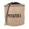 Kitchen Craft Natural Elements Hessian - Sacco per conservare Le Patate con Fodera Oscuran...