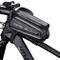 LIDIWEE Borsa Telaio Bicicletta, Wheel Up 7 Pollici Porta Cellulare Bici Custodia Cellular...