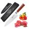 Coltello da cucina professionale da 20,5 cm, 67 strati in acciaio damasco VG-10, ultra aff...