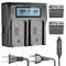 Neewer 6600 mAh Li-Ion Batteria per Sony NP-F970 NP-F970 NP-F960 NP-F975 NP-F570 NP-F750 N...