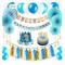ZNZ 1st Birthday Party Decorations Boy - Primo Decorazione Festa di Compleanno per Bambini...