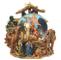 Il mondo dei carillon Mmm GmbH, 858237 Carillon Palla di Neve Molto Dettagliato con Scena...