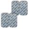 Stimpads, 50X100mm, Confezione da 4 Pezzi ad Alte Prestazioni, elettrodi TENS/EMS a Lunga...