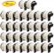 Yellow Yeti 30 Rotoli DK-22205 Etichette adesive continuo 62mm x 30,48m Nastri compatibili...