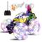 UTTORA Auto Telecomandata, Macchina Telecomandata con 360 Rotazione RC Auto con Musica e l...