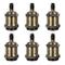 DiCUNO E27 Vintage Portalampada, Edison retro lampada a sospensione, Adattatore in ceramic...