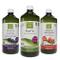 Aloe Mix: 1 Succo e polpa da Bere di Puro Aloe + 1 Aloe e Mirtillo + 1 Aloe e Melograno -...