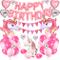AYUQI Unicorno Palloncini Compleanno Decorazioni, Set di Banner Festa Compleanno, Unicorno...