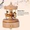 Wifehelper Carillon in Legno Carillon Carillon Romantico da giostra Bellissimi Artigianato...