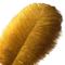 Piume di struzzo Sowder, 10 pezzi, 30-35 cm, decorazioni di nozze o per la casa golden