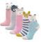 LOFIR Calzini Divertenti in Cotone per Bambina Calzini con Animali, Calze Glitter Bambina...
