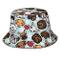 SDFRG Simpatici cappellini da pescatore con stampa zampa di cane per unisex Cappello da pe...