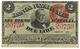 Cartamoneta.com 2 Lire Banca Nazionale nel Regno d'Italia CAVOUR 25/07/1866 SPL+