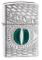 Zippo 28807 Accendino a Benzina, Ottone, Cromato, 5,70 x 3,70 x 1,20 cm