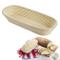 Westmark 32022270 - Cesto per pasta di pane, Vimini, Ovale, per ca. 1500-2000 g, lunghezza...