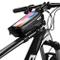 Bici Borse Bicicletta Telaio Anteriore Borsa Impermeabile Manubrio Ciclismo Top Tubo Panni...