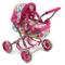 Bayer CHIC 2000 555 17 - Carrozzina per Bambole Smarty, Colore: Rosa, Motivo: Bolle
